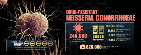 薬剤耐性淋菌