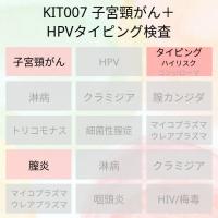 kit007 子宮頸がん+HPVタイピング検査