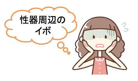 ブログ記事 いぼと子宮頸がん