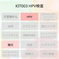 5位 女性用ののハイリス型のHPV検査です。タイピングではありません。